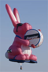 The Energizer Bunny Hot Hare Balloon