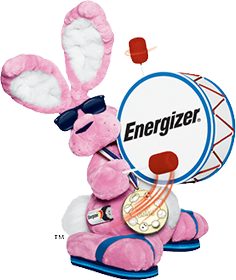 Energizer Bunny is Named a Top Brand Icon