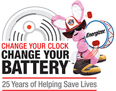 Change Your Clock, Change Those Smoke Alarm Batteries
