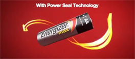 Power Seal Technology Energizer Batteries