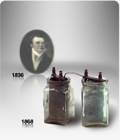 Early advances in the history of batteries