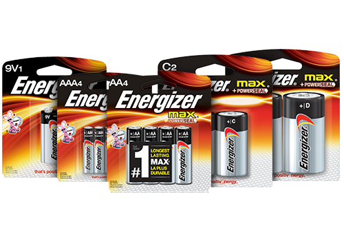 energizer Max family