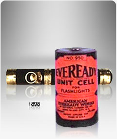 The first Eveready flashlight