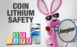 Coin Lithium Safety Banner