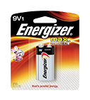 Energizer Max Power Seal 9V Batteries