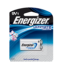 Energizer Ultimate Lithium 9 volt Battery