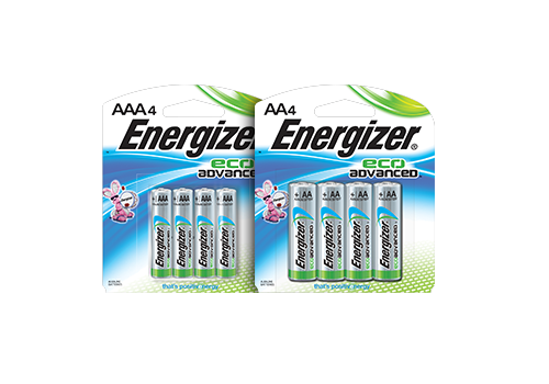 Energizer Eco Advanced Batteries