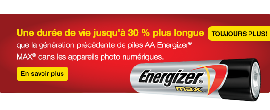 Energizer max banner