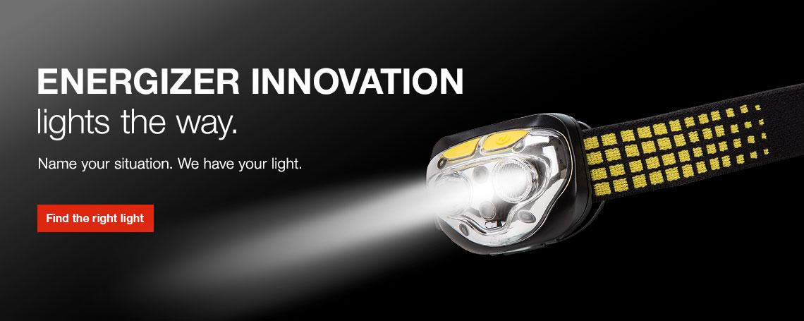Energizer Lighting and Flashlight Finder
