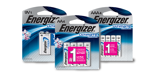 energizer ultimate lithium family