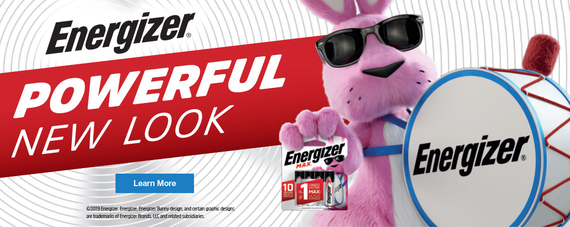 Energizer New Look