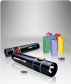 Energizers first flourescent flashlights