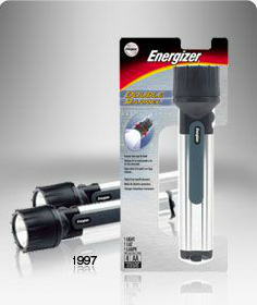 Energizers first LED flashlights