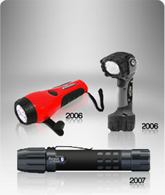 Energizer flashlight advancements in the 2000's