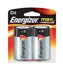 Energizer Max Power Seal D Batteries