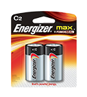 Energizer Max Power Seal C Batteries
