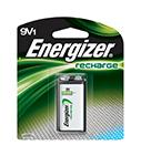 Energizer Rechargeable 9V Batteries