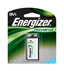 Energizer Rechargeable 9V Batteries