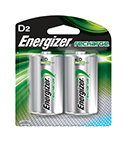 Energizer Rechargeable D Batteries