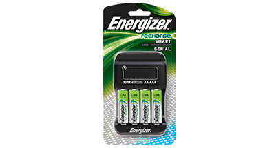 Recharge Smart Nimh Rechargeable Battery Charger Energizer