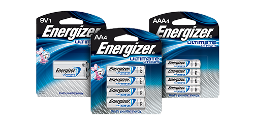 energizer ultimate lithium batteries. Black Bedroom Furniture Sets. Home Design Ideas