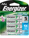 Energizer Recharge Rechargeable Batteries