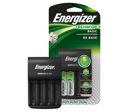 energizer basic recharger