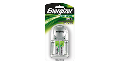 Energizer Basic Battery Charger