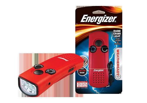 Energizer Radio Crank Light