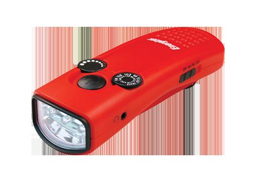 Energizer Crank Light with Radio