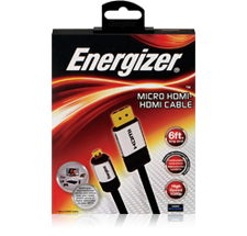 Energizer Audio and Video Cables