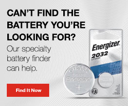 Specialty Battery Finder