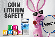coin lithium battery safety